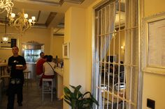 La entrada al Restaurante
