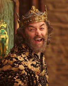 King Richard (Timothy Omundson) in Galavant. Attended AADA