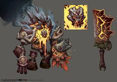 Darksiders II Monster 6 by CorruptedDeath.deviantart.com on @DeviantArt