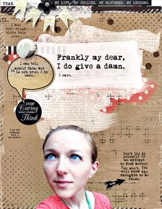 Created with Studio Basics All About the Memories and Collab (Reed, Cronin, Barrow) Frankly My Dear.