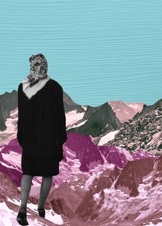 Sky Walk : Collage by Stefanie Chew