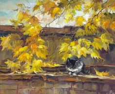 Autumn roof  Anna Charina