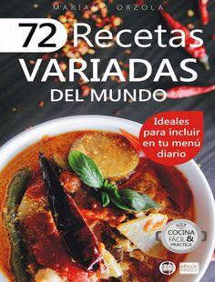 72 recetas variadas del mundo