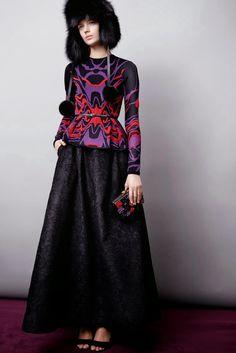 Modest Elie Sabb 2015 dress   Mode-sty #nolayering