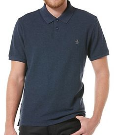 Daddy-O Polo in Blue Denim by Original Penguin. $55