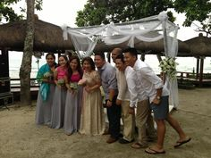 the cool and the gang #theentourage #beachwedding #philippines