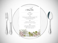 Weddings (The Classic White Wedding): Invitation | Megan Isabella | weddings | invitation | stationery | print design | romance | menu | card | drinks list | Floral | Illustration | roses | pastel | white | light | classy | romantic | soft | subtle | classic