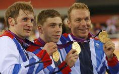 """Polémica en Londres 2012: """"Me caí a propósito"""", dijo ciclista británico que ganó oro en pista"""