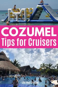 If you're cruising to Cozumel, you're in luck. There's so much to do in Cozumel, most close to the cruise port. Here are over 20 amazing things to do when you're cruising to Cozumel, Mexico for the day. Cozumel Mexico Cruise, Cozumel Excursions, Cozumel Beach, Mexico Vacation, Mexico Travel, Cozumel Snorkeling, Cruise Packing Tips, Cruise Travel, Cruise Vacation