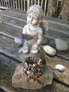 Peace on Earth: five wrap memory wire beaded bracelet on Etsy, $40.00