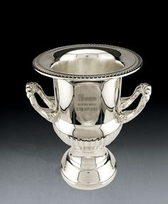 Essex Trophy Cup by Visions/Awardcraft  Zinc Alloy Trophy in Golden Shadow Finish  One engraved imprint position included