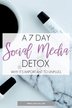 It's good to take a break from our phones and social media. Believe it or not, there is a such thing as information overload. Sometimes you just need to disconnect. Today's guest post comes from @lensylife. She tells us why it is important to unplug. She also gives us a guide for a 7 Day Social Media detox. It's time to take a mental detox. -@authorwannmo Social Media Break, Social Media Detox, Take A Break, Take That, Detox Challenge, Information Overload, Free Followers, Detox Tips, Love Tips