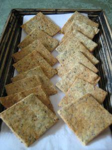 Einkorn Crackers