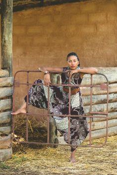 Kamanga wear Zambian fashion label