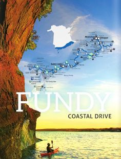 Best spots for leaf-peeping in New Brunswick, Canada | Fundy Coastal Drive | If you think the Bay of Fundy is breathtaking in the summer, just imagine it dressed in brilliant fall colour.