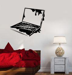 Vinyl Decal Laptop IT Computer Geek Gaming Playroom Wall Stickers (ig2770)