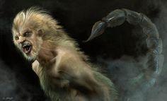 Grimm Season 3 Manticore by JSMarantz on DeviantArt