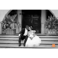 Jane & Andrew. #lagosweddingphotographer #lagosweddings #blackandwhite  #eikonworld #kiss #wedding  #lagos