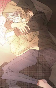 Jeon's family is a happy family despite having only one son named Jeo… Couple Anime Manga, Anime Cupples, Anime Love Couple, Anime Guys, Anime Art, Anime Wolf, Romantic Anime Couples, Romantic Manga, Cute Anime Couples
