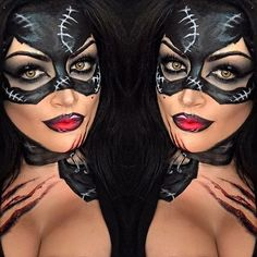 Cat women makeup