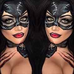 Cat women makeup