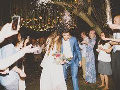 sparklers tessa barton wedding
