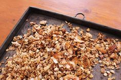 Coconut, Date & Banana Muesli (Gluten Free) - Saszali Muesli, Gluten Free Baking, Dessert Recipes, Desserts, How To Dry Basil, Baked Goods, Sweet Treats, Coconut, Banana