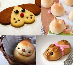 Díszített kenyér Japánban