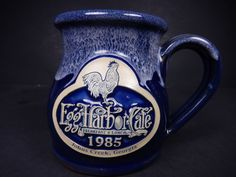 Deneen Pottery Hand Thrown 2011 Egg Harbor Cafe Mug $25.97    3653 #DeneenPottery