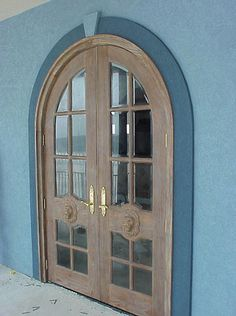 old french windows and doors | Doors by Decora - Country French Exterior Wood Entry Door Collection ...