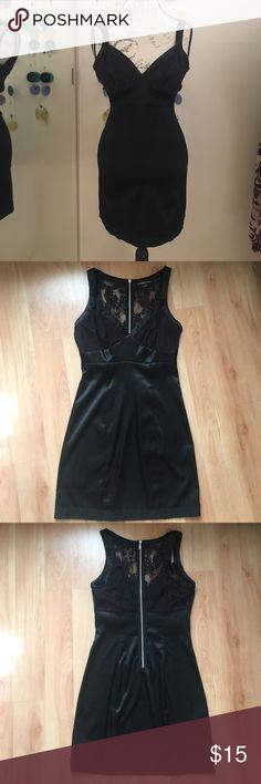 Vintage Guess Little Black Dress Vintage Guess Little Black Dress with lace. G by Guess Dresses Mini