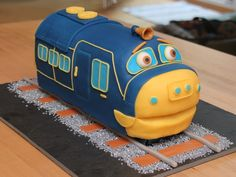 Brewster Train Chuggington on Cake Central