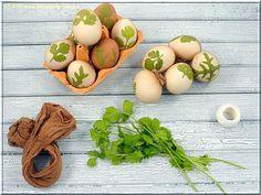 Příprava barvení vajec...