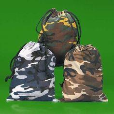 Camouflage Drawstring Bags - 12 per unit Fun Express http://www.amazon.com/dp/B004K3AHGU/ref=cm_sw_r_pi_dp_ncCZtb11N53ZA6RX