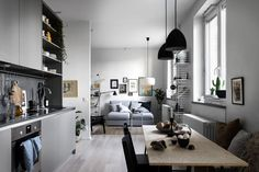Studio apartment Follow Gravity Home: Blog - Instagram - Pinterest - Facebook - Shop