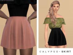The Sims 4 Calypso Skirt || Christopher067