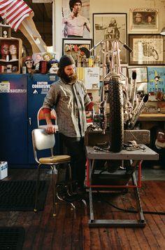 legendary builder Max Schaaf of 4Q Conditioning making art... #motorcycle #motorbike
