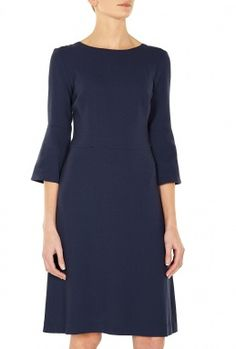 Exclusive Pandora Crepe Fit and Flare Dress by Goat