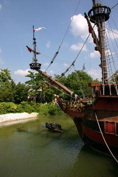 Bateau du Capitaine Crochet à Disneyland Paris - 2007