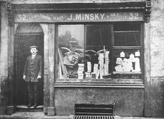 Jacob Minsky, 32 Christian Street, Shadwell, London. Tailor's trimming dealer and job buyer