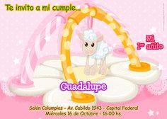 New birthday invitation card. Nuevo modelo de invitación para cumpleaños. Disponible en http://elsurdelcielo.blogspot.com