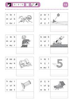 Speech Language Therapy, Speech And Language, Learn Dutch, Dutch Language, 2nd Grade Worksheets, Writing Practice, Kids Education, Pre School, Homeschool