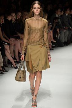 Salvatore Ferragamo Spring 2014 Ready-to-Wear Fashion Show - Esther Heesch