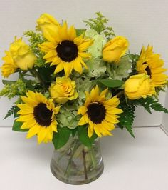 Sublime Sunflower Bouquet Premium