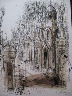 Ronald Searle: Montmartre