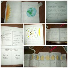 ... Moon Phases (4 pages) Lunar and Solar Eclipses Tides (3 pages) Bonus