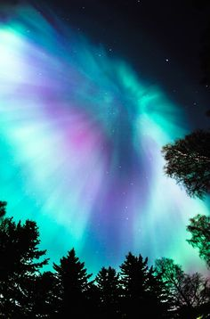 Northern lights (by Teemu Lautamies)