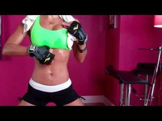 Jennifer Nicole Lee Teaches CoolSculpting Fans Muffin Top Workouts! - YouTube
