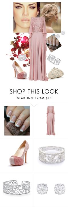 """""""Mother Nature"""" by crazy-gal9 ❤ liked on Polyvore featuring OPI, Elie Saab and Forever New"""