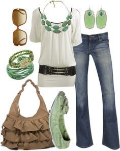 """clover"" by htotheb ❤ liked on Polyvore"
